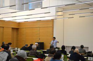 三浦豪太氏スポーツ講演会「スポーツと健康」を開催しました