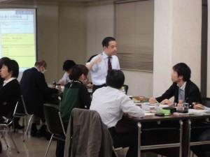 人財育成塾、第二回ワークショップ「マーケティングの基本」開催