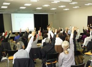 うおぬま会議個別会議A「健康ビジネスと健康な心身(からだ)」