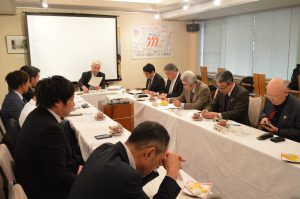 サービス・交流部会主催「新春講演会」および「懇親会」を開催しました