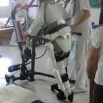 上村病院、ロボットスーツ実証実験見学会