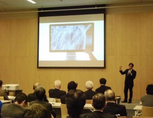 「健康ビジネス未来シンポジウム」を開催しました